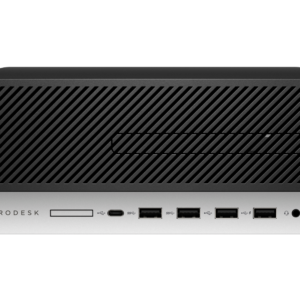 HP ProDesk 600 G4 SFF PC, Intel Core i3-8100 3.6GHz, 8GB, 256GB SSD, Windows 10 Home